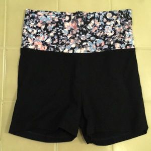 Victoria's Secret Foldover Yoga Shorts